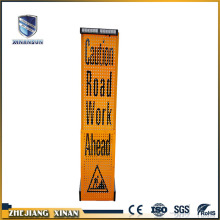 Reflective traffic road aluminium warning sign board