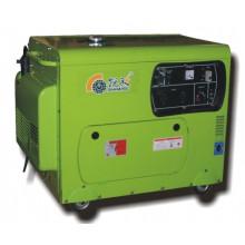 Generador diesel de Househould con el cepillo, 5.5kw. Tipo Portátil.