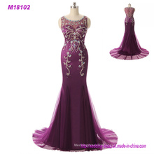 Purple Mother of The Brides Dress Long Plus Size 2017 Evening Gown