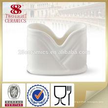 Support en céramique de serviettes de barre de vaisselle, support de tissu pour l'hôtel