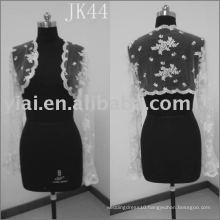 White lace Wedding jacket JK44