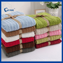 BSCI Aprovado Fabricante Algodão Cobertor (QHB55509)