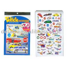 Adorable collectible paper sticker book