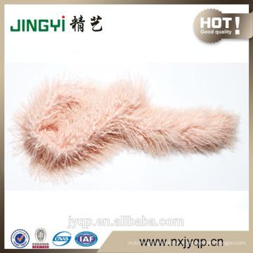 En gros doux tibétain mongol écharpe en agneau
