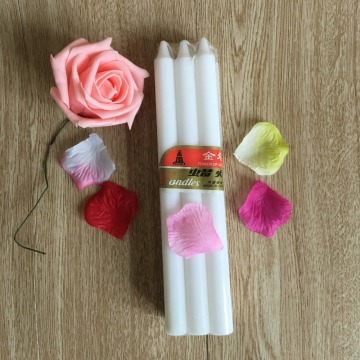 Wholesale Wax Snow White Stick Candle