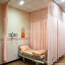 Cortina de sala de hospital antibacteriana em sala de emergência