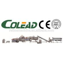 SUS304sand стальной линии мытья салата / овощей и фруктов линии обработки / IQFwashing машина / замороженные овощи производственной линии /