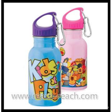 Garrafa de água de alumínio do OEM infantil promocional (R-4055)