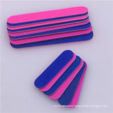Professional wholesale disposable mini washable emery board wooden nail file