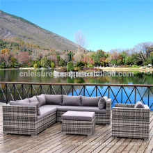 5pcs Luxury Rattan Sectional Sofa