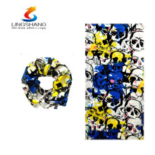 hot new products for 2016 lingshang factory supply custom tube seamless magic headwear bandana