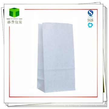 Bolsa de papel de fondo cuadrado para alimentos