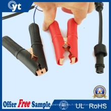 Câble de cavalier de connecteur de cordon d'alimentation avec clip