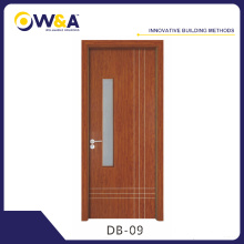Southeast Asia Room Wood Plastic Composite Door Timber Interior Wood Door Manufacturer