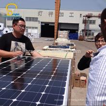 150w 200 w 300 w cellule photovoltaïque poly silicium monocristallin 24 v panneau solaire prix