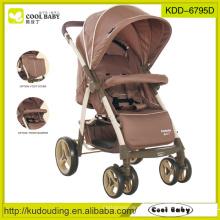 China carrinho de bebê fabricante com grande cesta de armazenamento