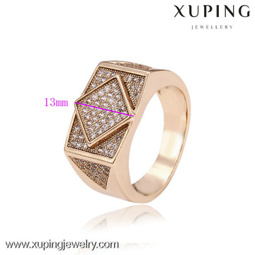 12583- Xuping Jewelry Fashion Elegant and Hot Sale Men Anillos