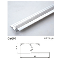 Anodised Silver Aluminum Transition Trim