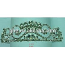 Auszug aus Krone von Dornen Mädchen Tiara handgefertigte Tiara rosa Tiaras China Hochzeit Tiaras