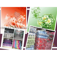 wholesale cheap polyester custom printed fabric for making bed sheets