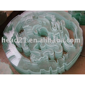 Cnc vidro corte máquina preço vidro waterjet
