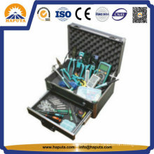 Aluminium Carrying Tool Storage Case with Drawers (HT-2103)