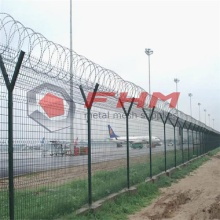 Svetsad Wire Mesh Airport Fence