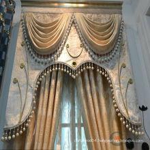 2015 hot sale royal & model fancy simple curtain design motorized curtain