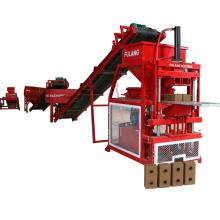 2pcs / molde FL2-10 ghana tanzania tierra comprimida que se enclavija ladrillo que hace la máquina para la venta