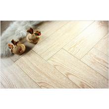 Commercial 8.3mm AC3 Embossed Oak V-Grooved Laminated Flooring