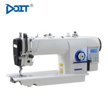 DT7903-D4 computarizado de una sola aguja industrial plana elástica máquina de coser de bloqueo de la máquina precio