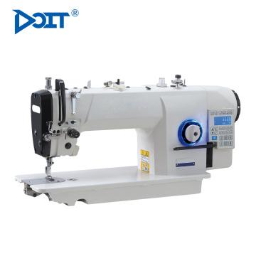 DT7903-K7 sola aguja industrial elástico plana máquina de coser de bloqueo precio