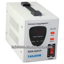 SDR Series fully automatic voltage regulator SDR-500VA 220vhome voltage stabilizer