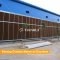 Chicken Farm Environment Control System Poultry Water Cooling Pad