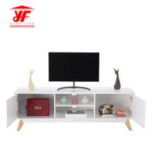Bandeja de madera de mesa para TV en salón
