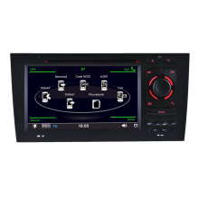 Car Audio Audi S6 RS6 DVD Navigation with GPS DVD Player (HL-8721GB)