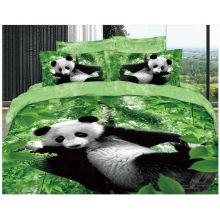 100% algodão 40s 133 * 72 reativo impresso 3d roupa de cama por atacado