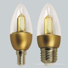 Ventes chaudes 3W 5W 7W 9W 12W E27 B22 LED ampoule (Yt-20)