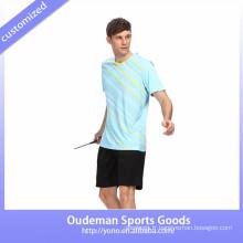 Usure de badminton de sublimation faite sur commande de 2017 / uniformes de fonctionnement