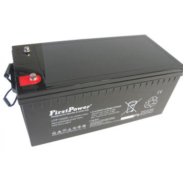 Bomba de reserva Deep Cycle Battery 12V220AH