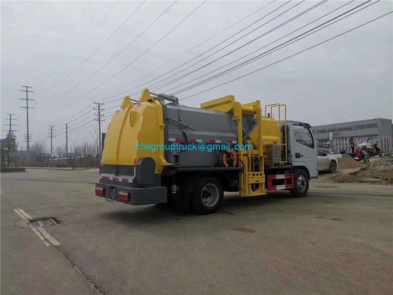 Waste Collect Truck 5