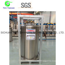 375L Capacity LNG Cyliinder, Cryogenic Tank for LNG Filling