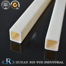 Tubo de alumina poroso do tubo cerâmico de 99% Al2O3