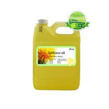 Поставка высококачественного пищевого 100% чистого сафлорового масла.