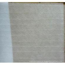 Tecido para telhados de fibra de vidro reforçado