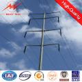 30FT galvanizado eléctrico energía postes de acero