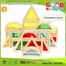 EZ1055 Clear Acrylic DIY Building Blocks w / Arbic design