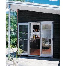 Современная усадьба Установленные двойные стеклянные алюминиевые окна и двери