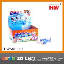 Tubarão engraçado da natação do brinquedo da corda da tração para miúdos