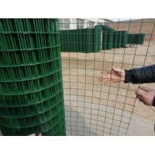 Ral-6005 Mesh soudé en PVC moulé par soudure Eurfence